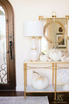 Welcoming Fall Home Tour - Fall Decorating Ideas - Randi Garrett Design