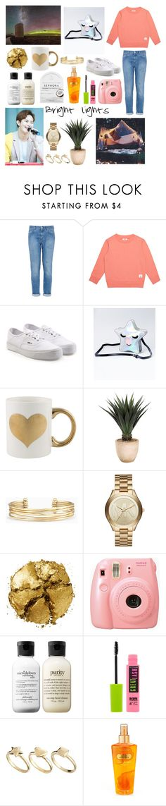 """""""Star gazing with Hongbin"""" by amyliannebarlow ❤ liked on Polyvore featuring STELLA McCARTNEY, Vans, Frontgate, Stella & Dot, Michael Kors, Pat McGrath, Fujifilm, philosophy, Maybelline and ASOS"""