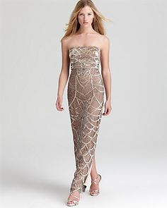 Sue Wong Gown - Strapless | Bloomingdales