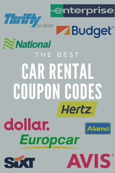 In there were 24 independent car rental companies without any franchises and they were non-affiliated. These owners realized the truth that strength is in working as a unit than competitors. Enterprise Car Rental Coupons, Enterprise Rent A Car, Car Rental Coupon Codes, Best Car Rental Deals, Packing Tips For Travel, Travel Hacks, Budget Travel, Maui Travel, Saving Money