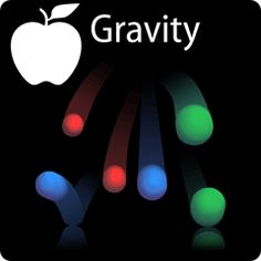Illustration of gravity: a bunch of coloured balls bouncing off the floor (credit: Tom Kemp)