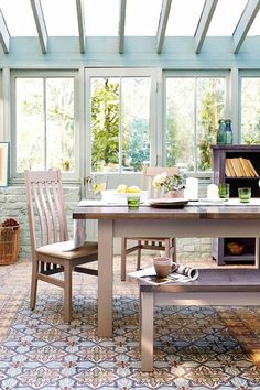 Conservatory and glass house ideas House Design, Glass House, House, Interior, Conservatory Interior, Home Decor, Conservatory Design, Belton House, French Inspired Furniture