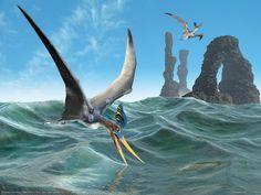 Free Pterosaur by Jose Antonio Penas