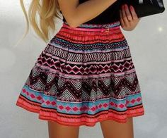 Cute tribal skirt