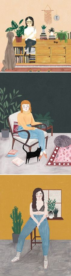 Illustrations by Chloe Joyce / on the Blog!