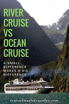 River Cruise Vs Ocean Cruise - A Small Difference Makes A Big Difference - Cruise Travel Tips - Packing List For Cruise, Cruise Travel, Cruise Vacation, Cruise Tips, Beach Travel, Solo Travel, Vacation Ideas, Vacations, Southern Caribbean