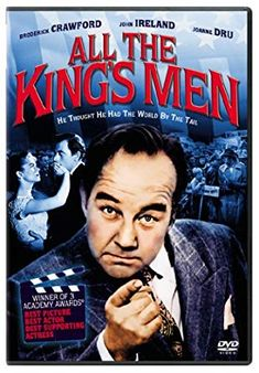 Directed by Robert Rossen. With Broderick Crawford, John Ireland, Joanne Dru, John Derek. The rise and fall of a corrupt politician, who makes his friends richer and retains power by dint of a populist appeal. Broderick Crawford, John Derek, Academy Award Winners, Oscar Winners, Movie Co, Film Movie, Akira, Will Wright, Academy Awards Best Picture