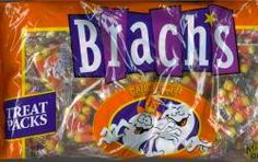 Brach's Candy Corn in individually treat packs. These are our most popular Halloween candy for trick or treat hand outs. 55 individual packs per bag.
