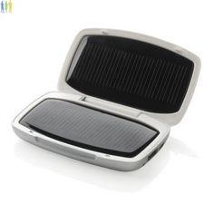 Chargeur de voyage solaire à personnaliser avec votre logo