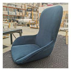 With a custom moulded internal shell, our Regent Lounge is upholstered with elegant navy fabric. #regentlounge #lounge #furnituremaker #interiordesign #interiordesignaustralia #interiordesignnsw #furnitureideas #customfurniture #furnituremaking #upholstery