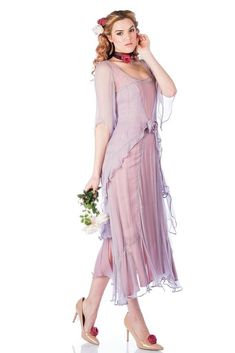You'll look like a true 1920s darling when you step out wearing the Great Gatsby Party Dress in Mauve by Nataya Lace Tea Length Dress, Tea Length Dresses, Short Dresses, Mauve Dress, Dress Up, Great Gatsby Party Dress, Mother Of The Bride Plus Size, Viscose Dress, Formal Evening Dresses
