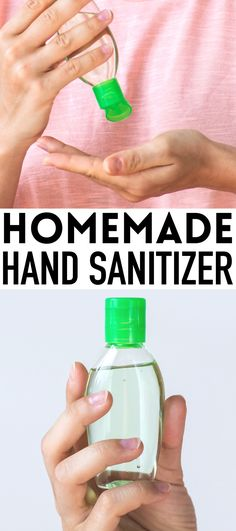 DIY hand sanitizer recipe - This easy homemade hand sanitizer has 2 ingredients and takes 2 minutes! Learn how to make hand sanitizer and kill all the germs and viruses that are worrying you. DIY Purell that's safe for the whole family. Vicks Vaporub Uses, Crunches, Hand Sanitizer, Decoration, Smoothie Recipes, Cleaning Hacks, Alcohol, How To Make, Homemade Recipe