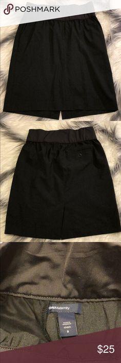 Gap maternity skirt Like new GAP Skirts