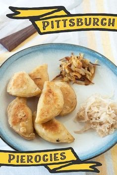 Pierogies are a beloved food in Pittsburgh, but they don& have to come from a freezer bag. Here& an easy recipe for homemade pierogies. Polish Recipes, Polish Food, Pierogi Recipe, Pasta, Sauerkraut, Clean Eating Snacks, Main Meals, I Love Food, Food To Make