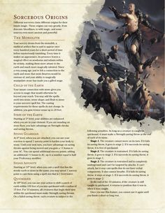 DnD Homebrew — Elemental Sorceries by BoltNine Homebrew Dungeons And Dragons Classes, Dungeons And Dragons Homebrew, Dnd Characters, Fantasy Characters, Dnd Sorcerer, Dnd Dragons, Dnd Races, Dnd Classes, Science Fiction