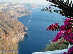 Santorini Beautiful View  Alexandros Daskalakis