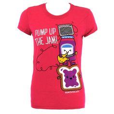 David & Goliath The Jam Skinny Fit T Shirt (Pink)