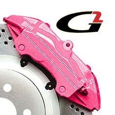 Pink brake caliper paint or Which do you prefer? C… - Cars World Ford Gt, Audi Tt, Caliper Paint, Volvo, Peugeot, Pink Car Accessories, Pink Jeep, Toyota, Pink Truck