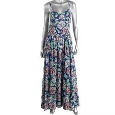 ⚡️SALE⚡️NWTFrench Connection Floral Maxi Dress Manufacturer: French Connection Size: 2 Size Origin: US Manufacturer Color: Mon Blue Condition: New with tags Collection: French Connection Silhouette: Maxi Sleeve Length: Spaghetti Strap Closure: Exposed Back Zipper Dress Length: Full-Length Total Length: 57 Inches Bust Across: 13 1/2 Inches Waist Across: 14 Inches Material: 57% Modal/43% Viscose Fabric Type: Modal Specialty: Printed French Connection Dresses Maxi