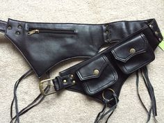 Hey, I found this really awesome Etsy listing at https://www.etsy.com/listing/96005473/vegan-leather-utility-belt-pocket-belt