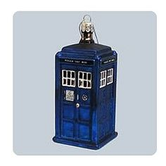 The Next Best Thing - Doctor Who TARDIS Figural Ornament, $17.99 (http://www.thenextbesthing.com/doctor-who-tardis-figural-ornament/)