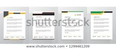 Find Letterhead Template Set stock images in HD and millions of other royalty-free stock photos, illustrations and vectors in the Shutterstock collection. Letterhead Design, Letterhead Template, Brochure Template, Flyer Template, Letterhead Format, Cool Business Cards, Business Letter, Certificate Templates, Land Scape