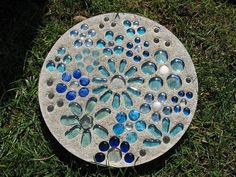 Homemade Stepping Stones | Stepping Stone I tried and now have made at ...