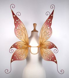 Jenny fairy wings from On Gossamer Wings http://www.fairy-wings.com/