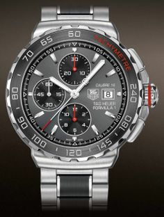 4a97923d5ed TAG Heuer Formula 1 Automatic Chronograph CAU2011.BA0873 44mm Relógios De  Luxo