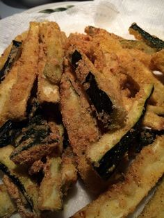 """Zucchini Fries! """"Fantastic""""  @allthecooks #recipe #zucchini #vegetables #healthy #side #easy"""