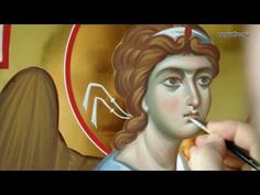 Cold encaustic in icon painting. Энкаустика в иконописании - YouTube