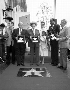 Gene Autry Star on the Hollywood Walk of Fame Hollywood Walk Of Fame, Hollywood Boulevard, Hollywood Stars, Purple Mountain Majesty, Cowboy Outfits, Western Film, New Movies, Movie Stars, Actors & Actresses