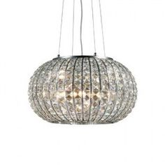 A collection of the Calypso range of Ideal Lux lighting including ceiling, table and wall lighting.
