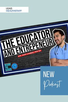 Mike Linares joins us and talks through his successive failures before he finally found his way while dropping some great tips he offers his nursing students to get through school! Nursing Students, Scrubs, Entrepreneur, Education, School, Board, Tips, Onderwijs, Work Wear