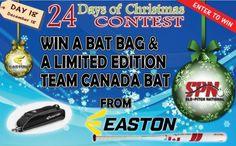 Day 18 - Enter to Win a Easton Bat Bag
