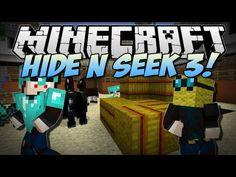 Minecraft   HIDE N SEEK 3! (NEW Animal Village Map!)   Minigame