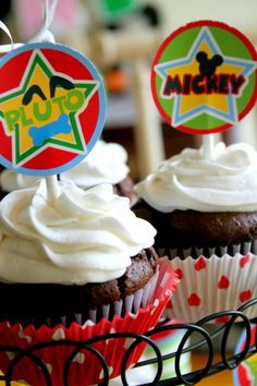 Mickey Mouse Clubhouse Party via Kara's Party Ideas Kara'sPartyIdeas.com #MickeyMouse #MinnieMouse #PartyIdeas #Supplies (29)