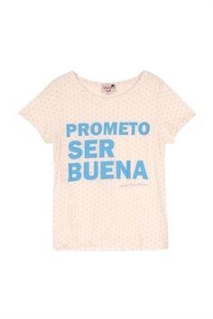 charol complementosDOLORES PROMESAS · camiseta