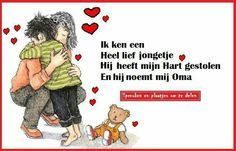 Hij noemt mij Oma Loe❤..Xxx...L.Loe