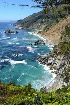 The Big Sur, California.  Went with Carol- visited a friend of hers who is a park ranger there.  Stunning.