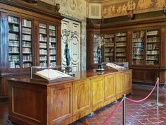 Library Room in the Royal Palace of Caserta Italy  #caserta #italy #travel #palace #interior #library #room #book #galaxys6