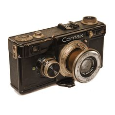 Zeiss Contax 1E- we still develop old film. Check us out at www.filmrescue.com