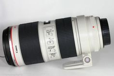 Canon EF 70-200 mm f/2.8  Loveee this Lens....use it all the time!