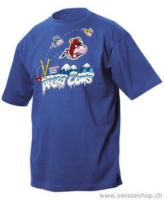 Kinder T-Shirt Angry cows, blau / Kids T-Shirt Angry cows, blue / This is a great boys T-shirt, which they like to wear determined.