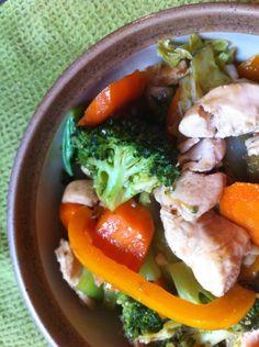 Paleo Chinese Chicken Stir Fry