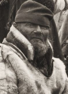 Sami man from Norway first part of 1900