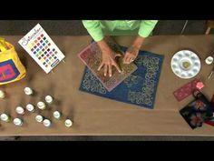Pebeo Setacolor Opaque Fabric Paint - YouTube