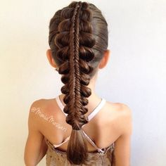 """Stacked Bubble BraidInspired By Shelley"