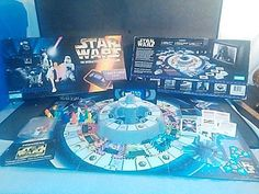 1996 STAR WARS INTERACTIVE BOARD GAME #ParkerBrothers
