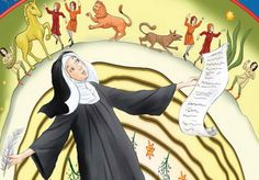 St. Hildegard of Bingen was a brilliant composer, artist, visionary, and also an herbalist. She believed God gave us herbs for health, joy and peace.